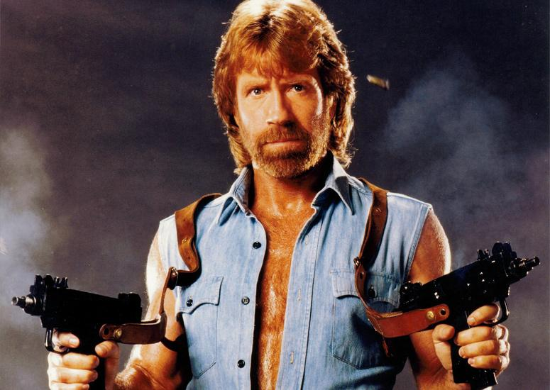 March 10, 1940 - Chuck Norris an American martial artist and actor is born in Ryan, Oklahoma,
