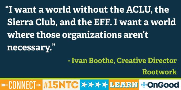 "#15NTC ""Movement building is what moves social change forward."" - Ivan Boothe, @rootwork http://t.co/xtEk7APzfU"