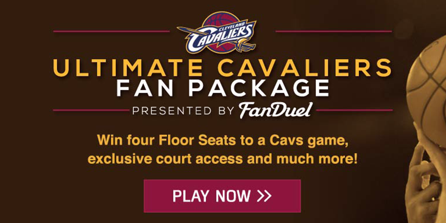 Cleveland Cavaliers On Twitter Score Floor Seats With