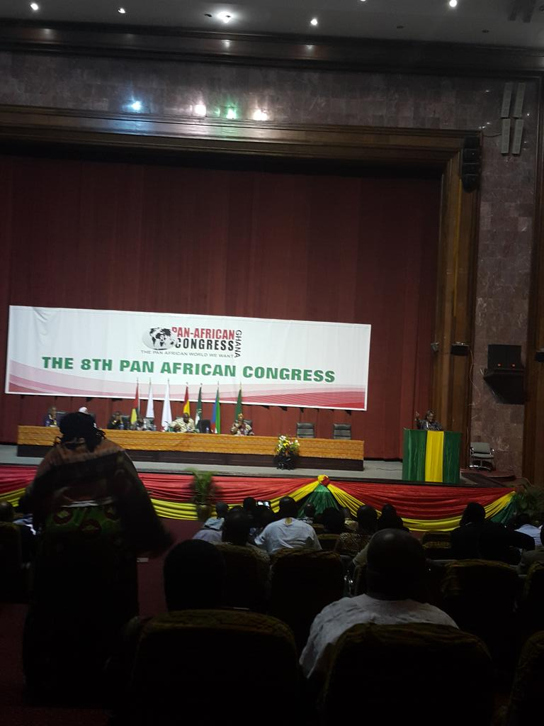 Discussion on #reparations 4 #Africa underway at #PanAfricanCongress8 @KojoAbroba @mashanubian @KhaitaSylla http://t.co/jEyt19gT3v