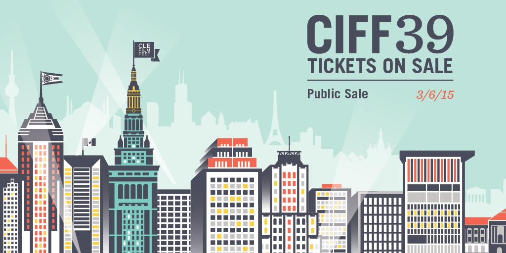 #CIFF39 tickets are now on sale at http://t.co/P6JKL99BP2! Use code TWITTER to receive $2 off each ticket purchase. http://t.co/tmdjzov5H6