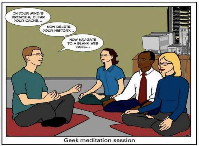 still laughing from earlier. Meditation for Geeks :-)  RT @CausesEffects: #HappyMeditationMonth ~ http://t.co/ovA3BMiRkn