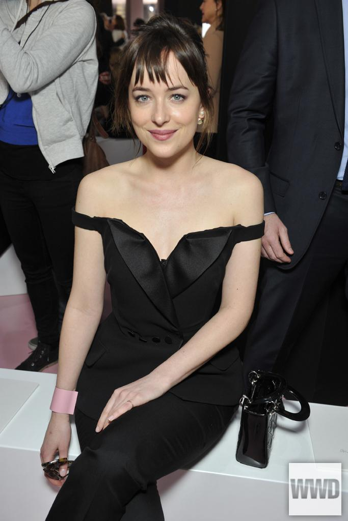 #DakotaJohnson, #HaileeSteinfeld and @lordemusic attended @Dior's fall show: http://t.co/nxzwWcEb3F #PFW #WWDFrontRow