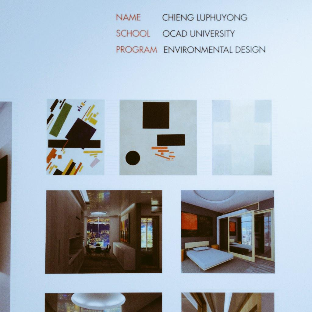 U31 Design On Twitter Its Official Luxury Student Suite Winner Chieng Luphuyong OCADcongrats Shiupong DesignHaus Tco SfZ75zhpqX
