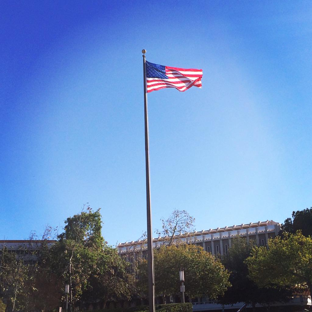 Have a wonderful weekend!  And contrary to what you might be hearing, flags are still flying at UC Irvine. http://t.co/iloF5lVzsK