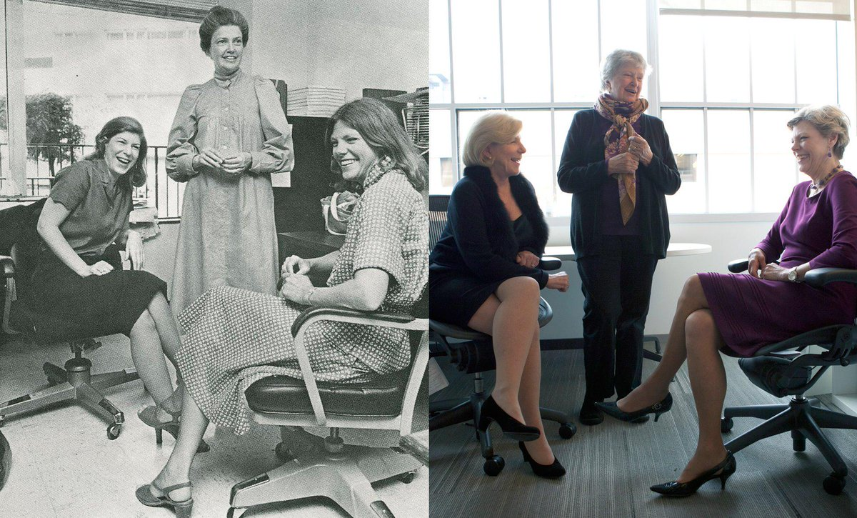 In honor of #WomensDay, we salute 3 of our founding mothers: @NinaTotenberg, Linda Wertheimer & Cokie Roberts. http://t.co/NXkrsu7cek