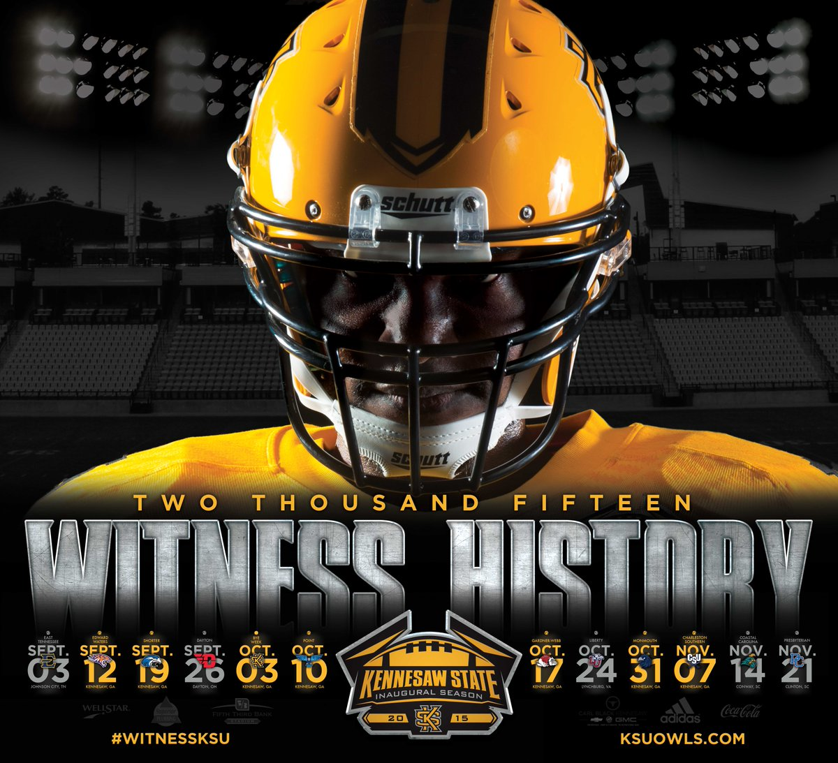 "kennesaw state owls on twitter: ""first look: 2015 kennesaw state"