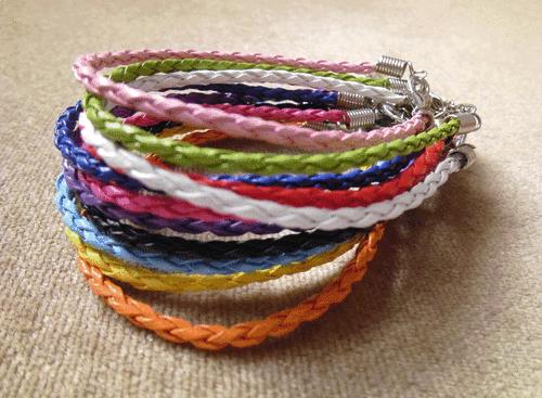 leather braid #bracelets  #surfer #statement #summer