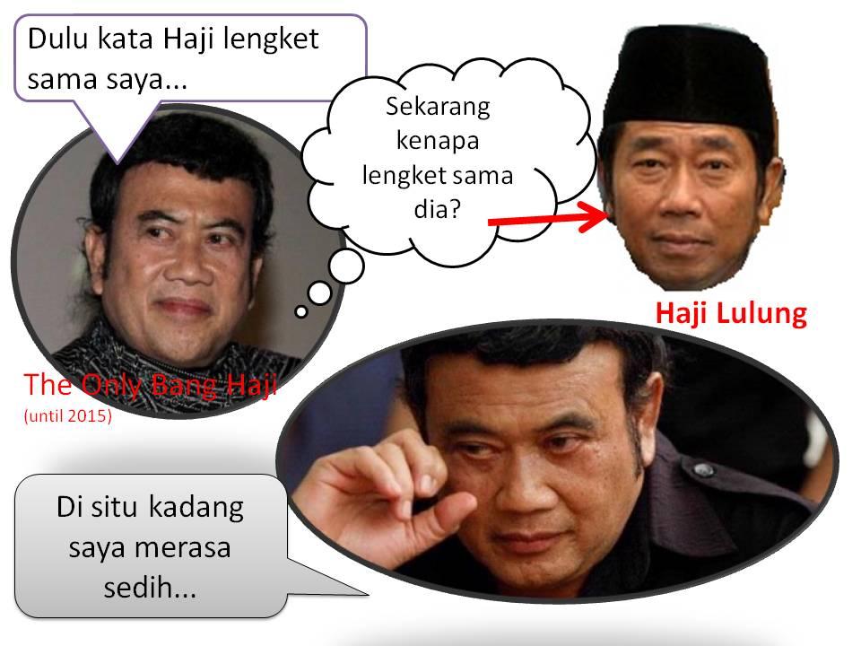 """Haji"" menempel pada Lulung... Di situ kadang saya merasa sedih . #SaveHajiLulung http://t.co/MD67ImBNAY"