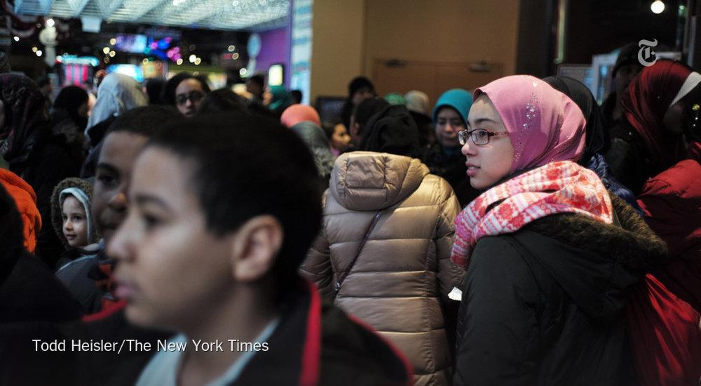 It's hard to be a Muslim teenager in New York http://t.co/UNVRnL4pO9