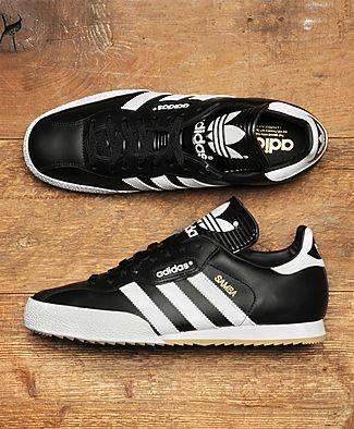 adidas samba super black whitetail