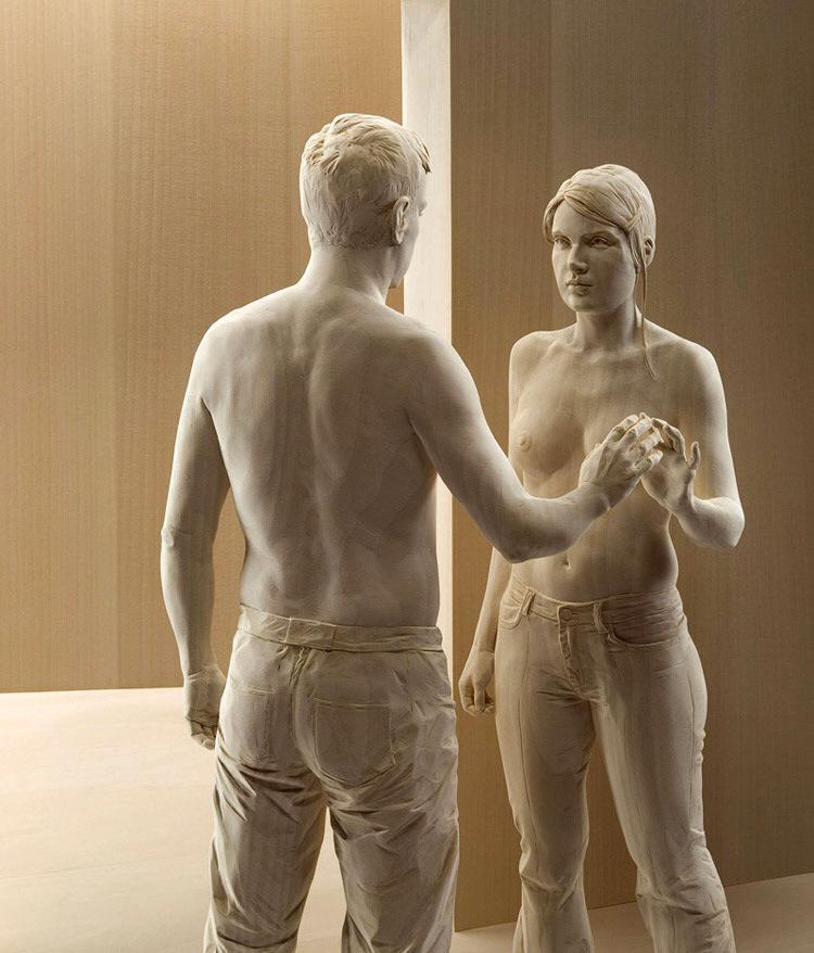 """Topi da Biblioteca on Twitter: """"Buongiorno a tutti con Peter #Demetz e le  sue meravigliose sculture. Legno...Vivo... http://t.co/tiguRd8F4T"""""""