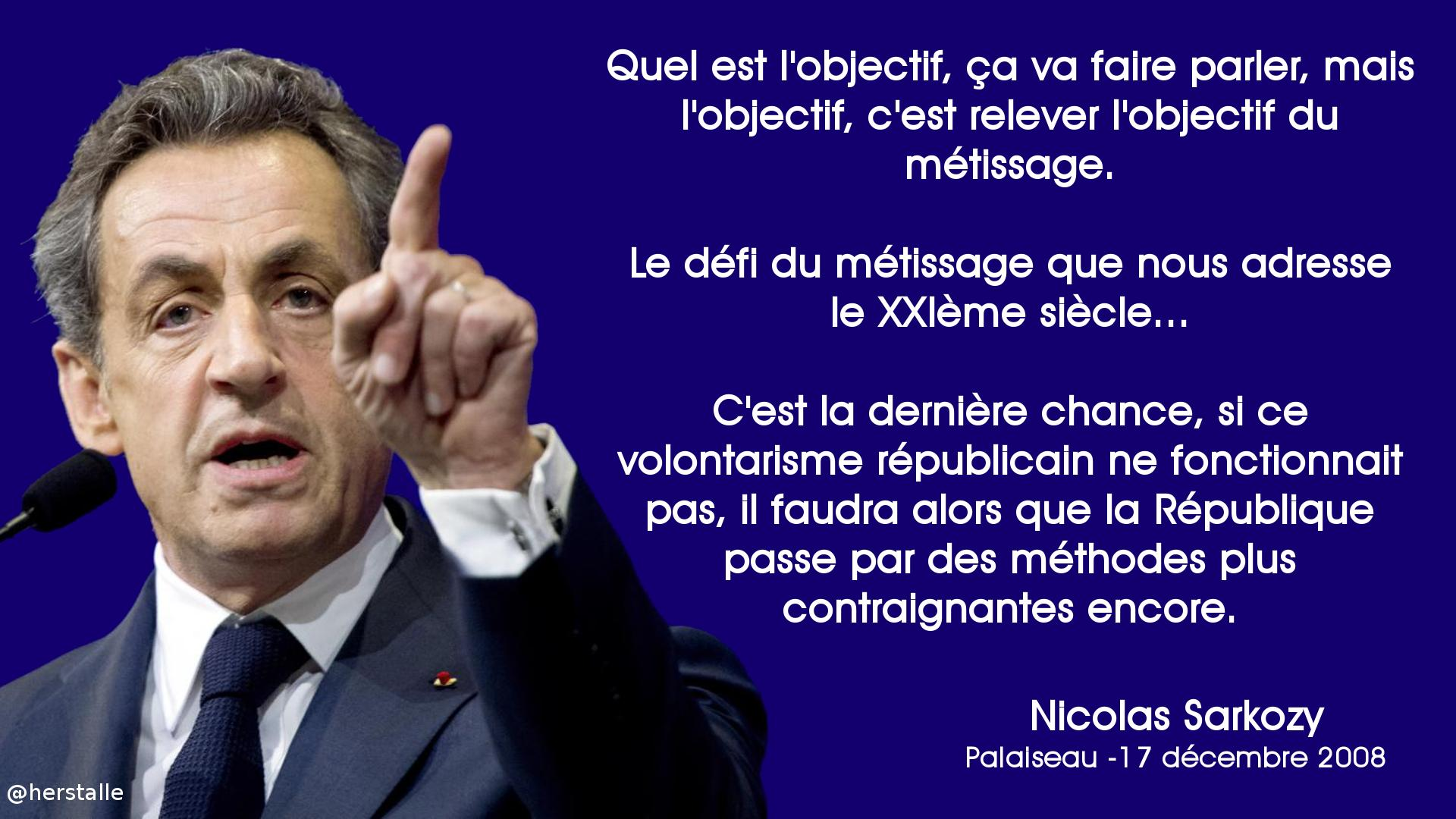 """Marc Herstalle on Twitter: """"N'oubliez pas... #Valls, #Sarkozy, même combat  : «mixité imposée» pour l'un, «métissage obligatoire» pour l'autre.  http://t.co/2zXYtYVsRs"""""""
