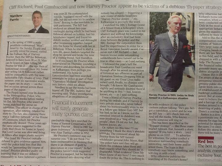 Image result for harvey proctor matthew parris