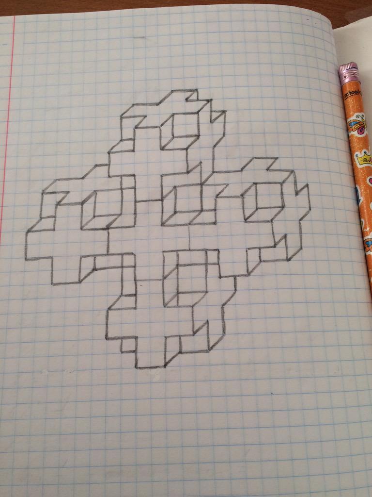 картинки чтобы рисовать по клеточкам в тетрадке на уроке конструкция является