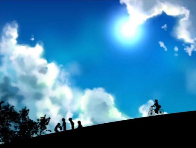 の 天の川 と 少年 戦争 真夏