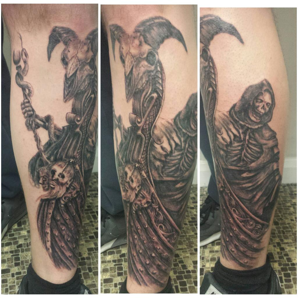 Charon The Ferryman Tattoo