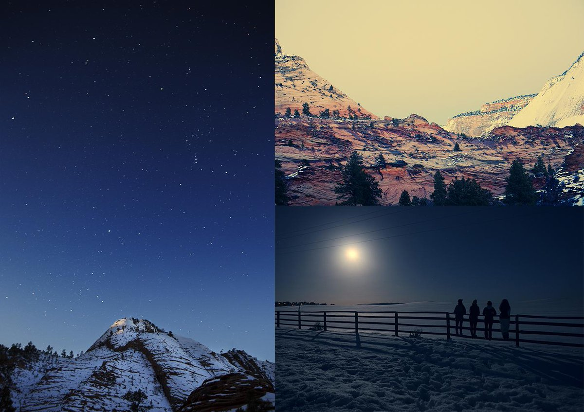 From my trip to Zion in Utah in the moonlight with my friends <3 http://t.co/bTXniL4LbI