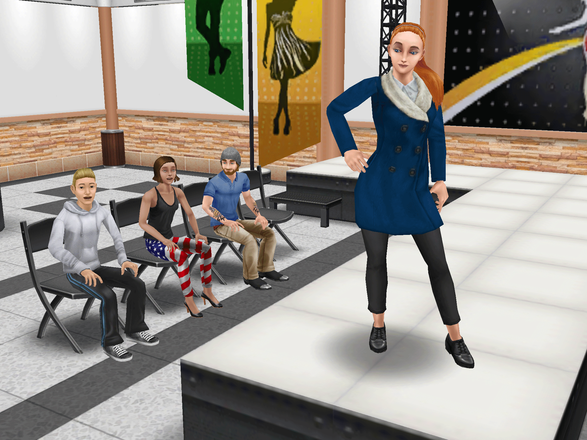 The sims freeplay long hairstyle - The Sims Freeplay On Twitter Long Hair Is Back Get Them Strutting Their Stuff On The Catwalk Then Off To The Salon For A Luscious New Do