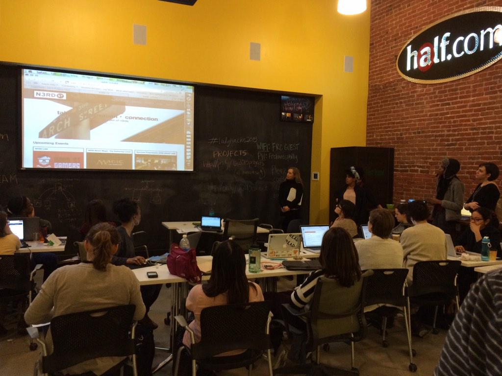 New changes for N3RD St website unveiled at #LadyHacks2015 #n3rdst http://t.co/txuKfSw58p
