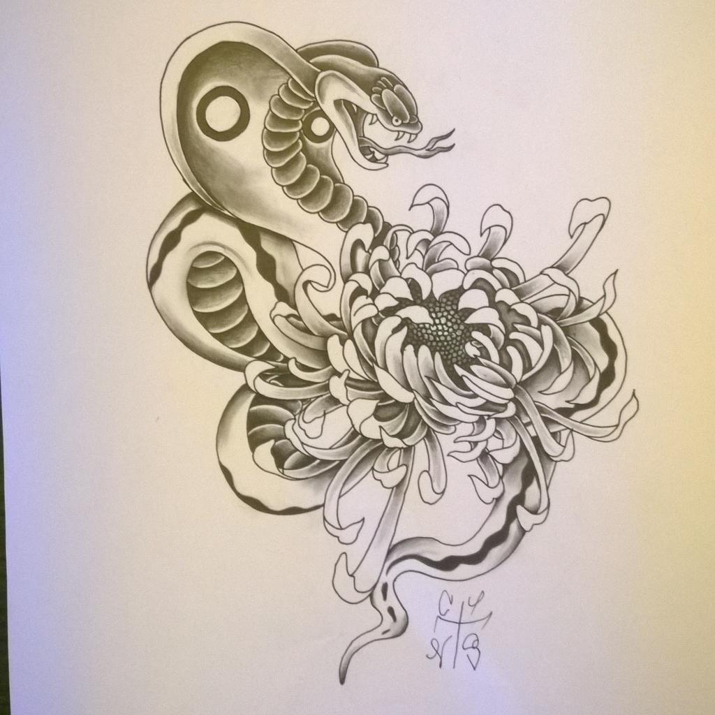 The Tattooexperience On Twitter Dessin Termine Serpent