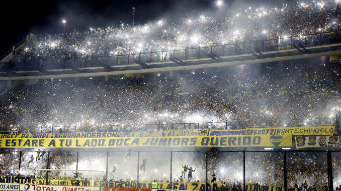 La hinchada de Boca premiada como mejor público del mundo http://t.co/luKFZ9TULS