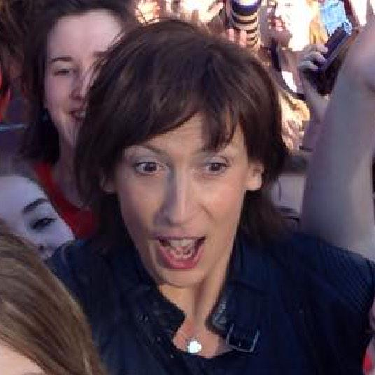 When Miranda turned up at the Gallop we were like.... @mermhart
