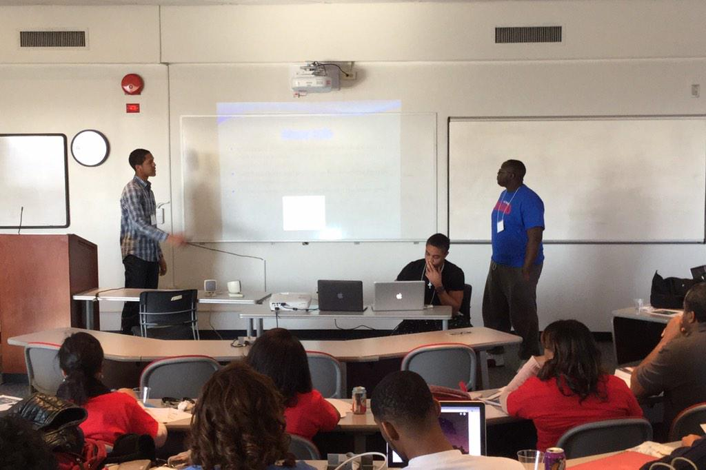 """Xplorer"" the application is a game of matching patterns that can be shared with friends #HUHacks @HowardU http://t.co/Ta5LE5nj9e"