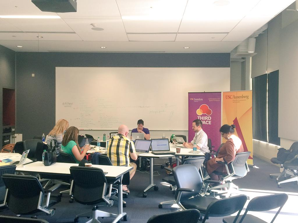 #MsFembot Hack-a-Thon afternoon at USC Annenberg http://t.co/KhQ4depabu