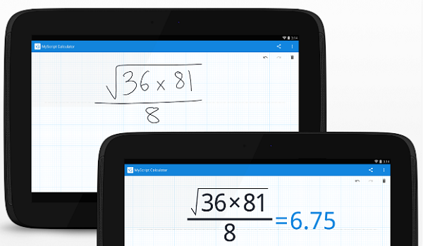 Apple/Android app to work out #maths problems using handwritten calculations https://t.co/p6ppia1qMK #ukedchat #edchat https://t.co/VkBm914ff6