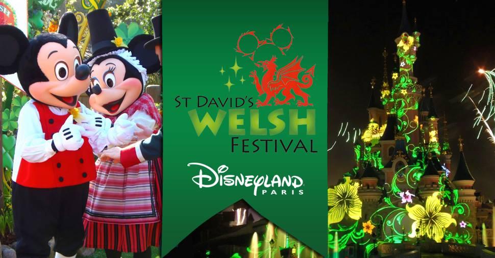 Retour sur la St David, qui s'est déroulée hier à @Disney_ParisFR !