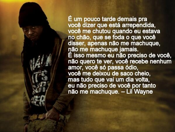 Media Tweets By Frases Lil Wayne At Citeililwayne Twitter