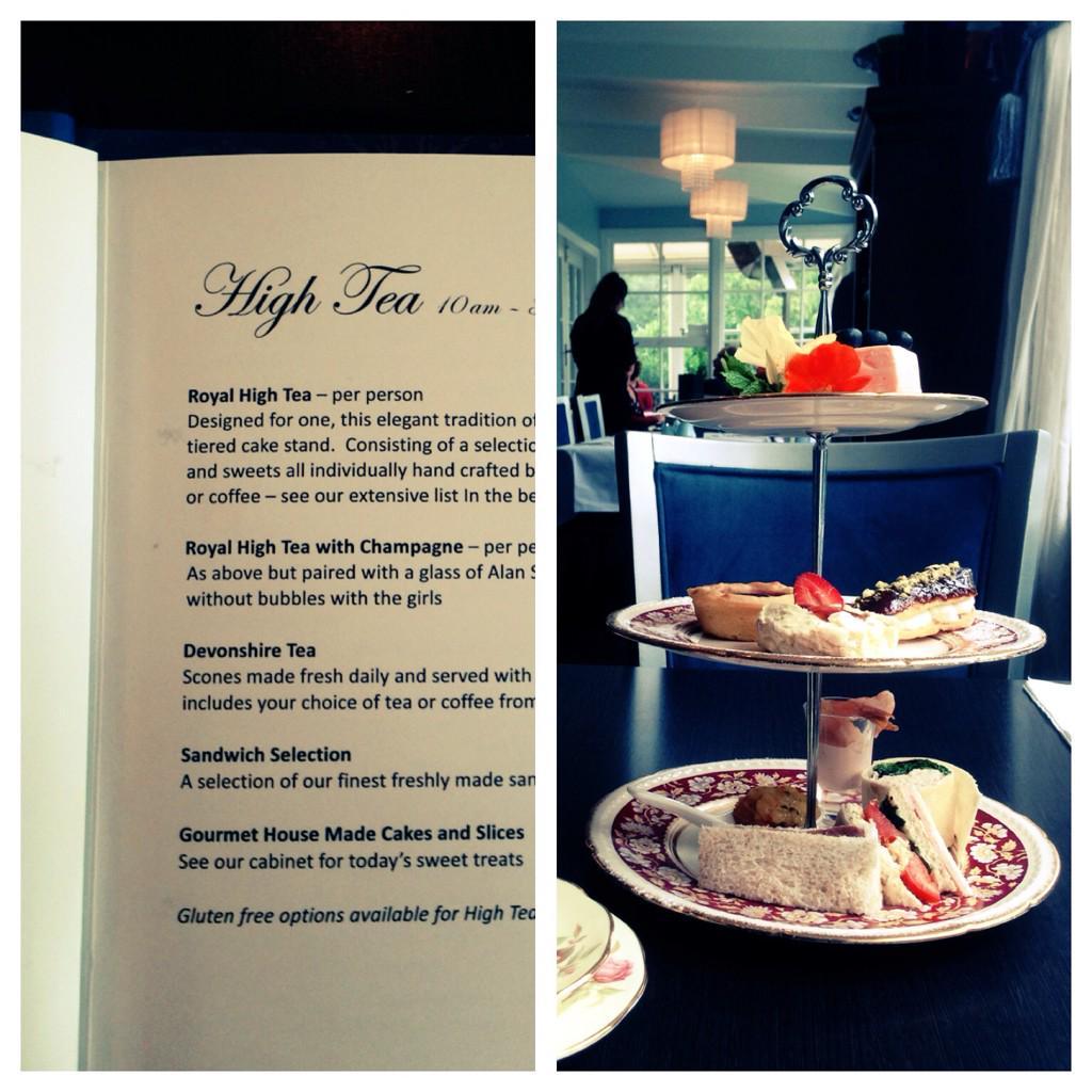 女の子が1度は憧れるハイティー!クライストチャーチ近郊にある「The Tea House」はDilmah Real High Tea Challengeという由緒ある大会(NZ)で銀賞をとったお店!作りたてのプチケーキがたまらない♡ http://t.co/A85XEqZzvW