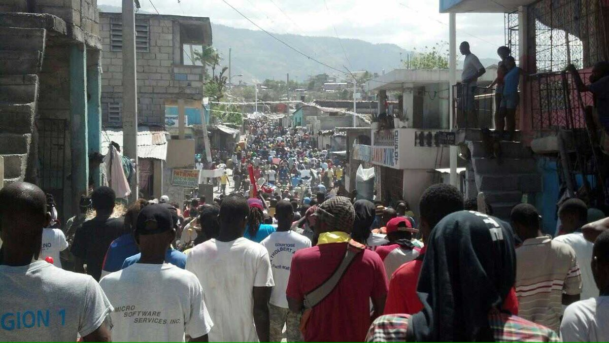 Remember Selma.. And Haiti, where people are in the streets now, today, searching for Justice #NoElectionsSince2011 http://t.co/ifhJpkQZ4k