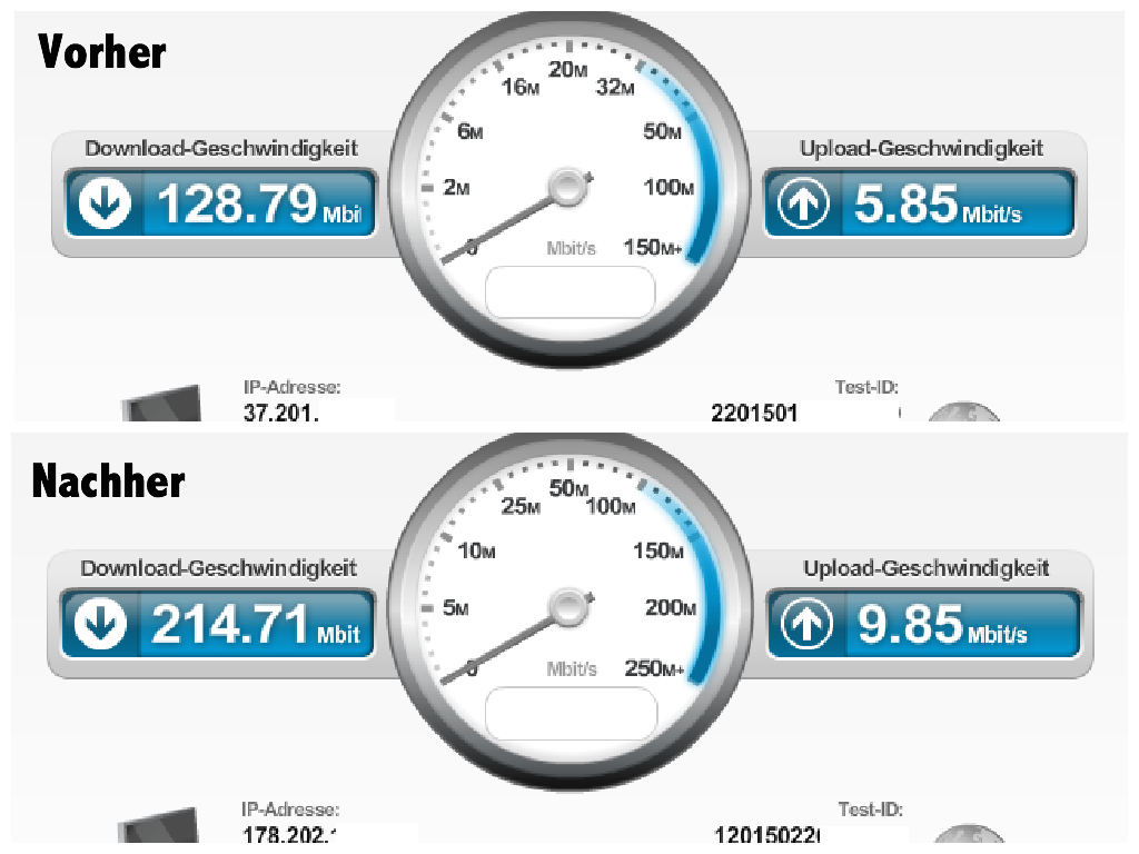 Speedtest unitymedia