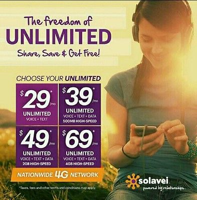 Don't overpay for cell phone service. With Solavei, never more than $69 unlimited monthly.  http://t.co/cYmMLTaIr7 http://t.co/t8sj20OwgV