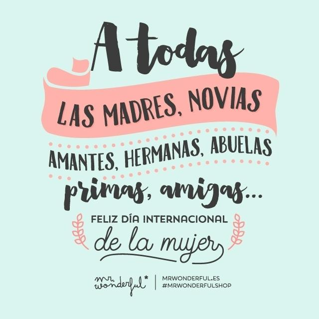 Mr Wonderful On Twitter A Todas Las Madres Hijas