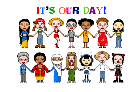 Women all over the world, today is our day  #HappyWomensDay Let's all #MakeItHappen for #IWD2015 http://t.co/SdJk1HI3O2