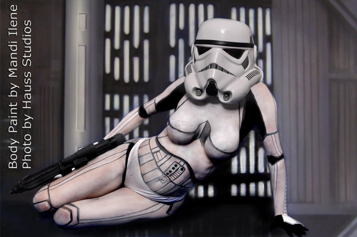 stormtrooper body wars paint Star