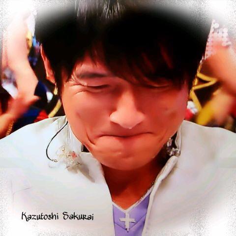 泣いてる桜井和寿