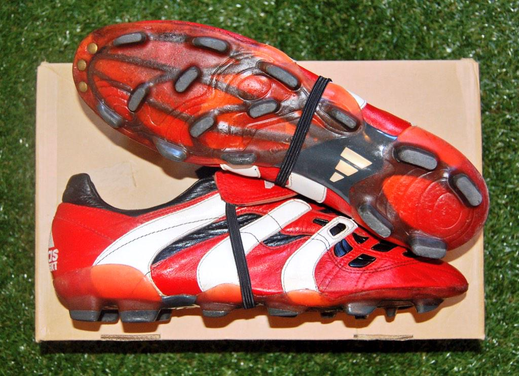 Image result for adidas predator accelerator red 1998