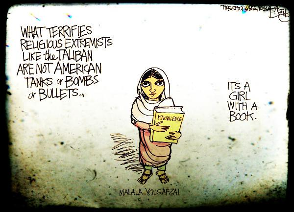 """@citizensrock: ""With guns you can kill terrorists—with education you can kill terrorism."" MALALA YOUSAFZAI http://t.co/VIUItNA7S8"" #tcot"