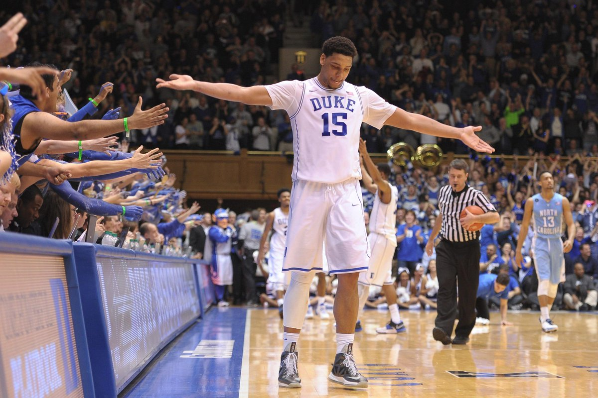 Duke C Jahlil Okafor wins ACC Player of the Year. He becomes 1st freshman to ever win award.