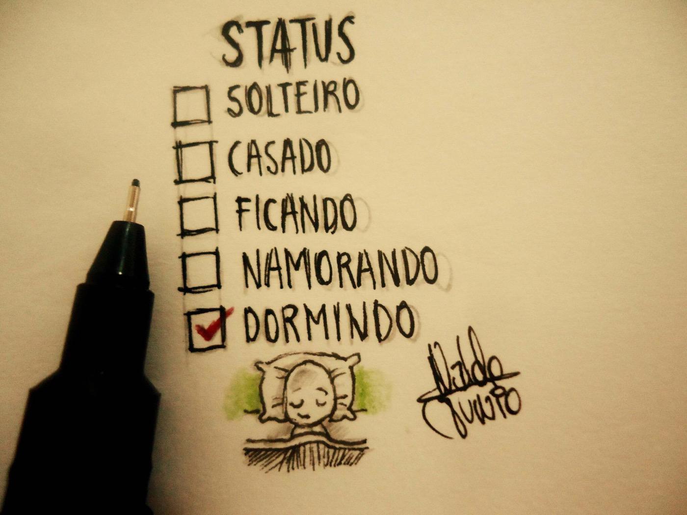 """Desenhos Tristes De Amor Com Frases: Tirinhas On Twitter: """"""""Status..."""" (Desenhos De Um Garoto"""