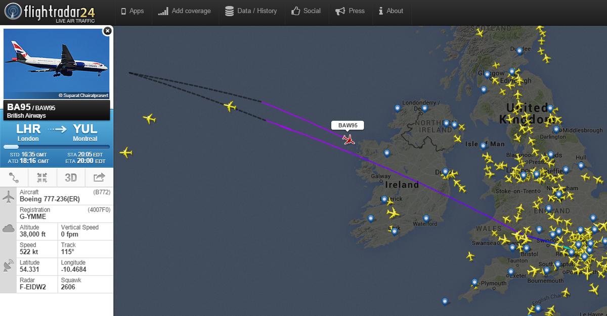 acf7a9eb03c4 Flightradar24 on Twitter
