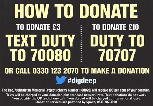 Help those who served in Iraq and Afghanistan get the memorial they deserve and #digdeep: http://t.co/JkLvDYctxH http://t.co/13PWqtEn8k