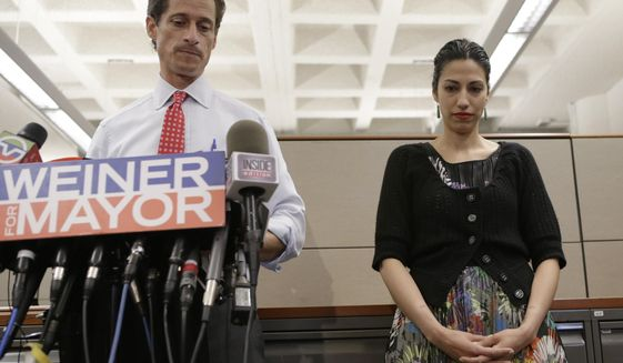 huma@clintonemail.com Weiner's wife had account too
