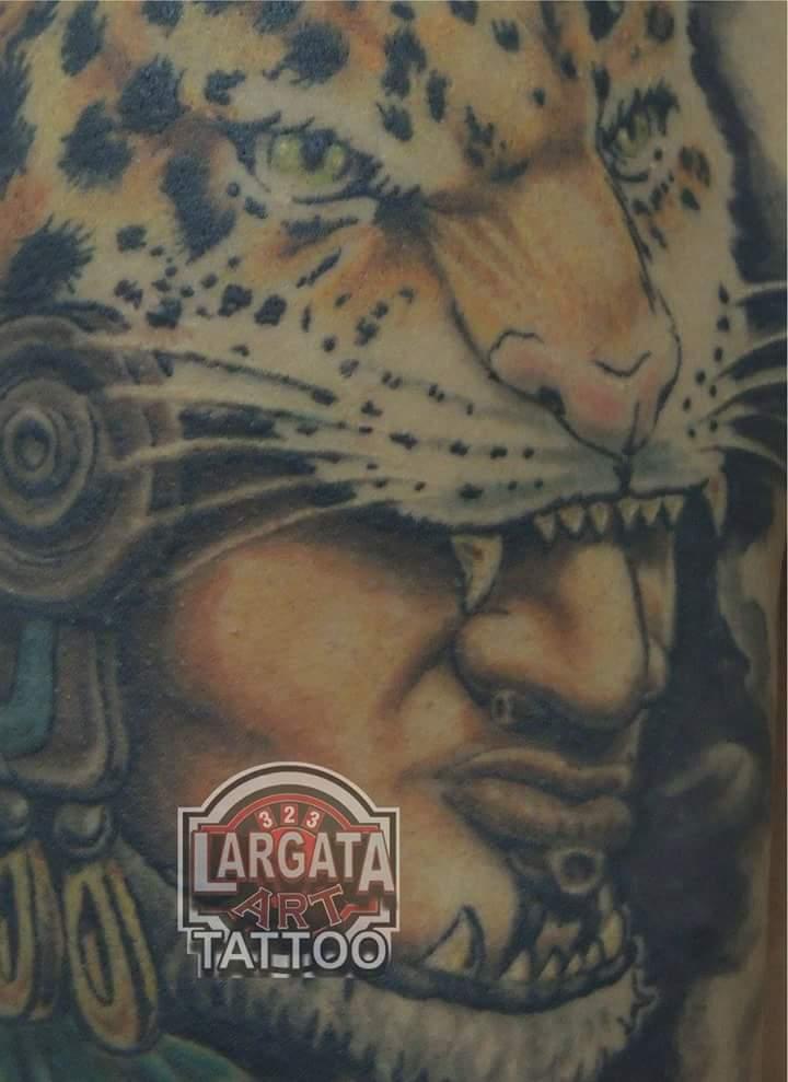 323 Studio Tattoo On Twitter Tatuaje Guerrero Jaguar Conoce
