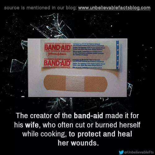 Fun fact. #bandaidlife #accidente #FactsOnly #funfacts #DidYouKnow #wife #HusbandGoals http://t.co/pcMCueZBMf