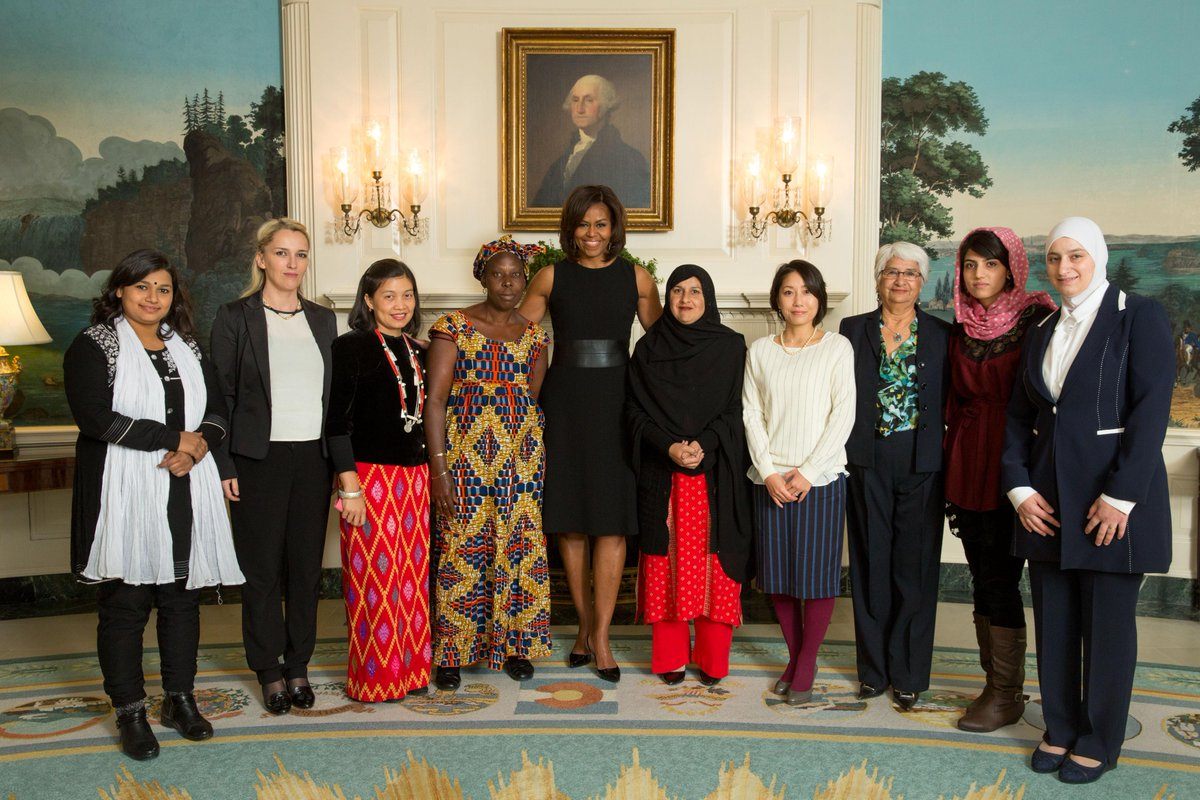 'Women make immeasurable contributions to our world.' —President Obama #HappyInternationalWomensDay